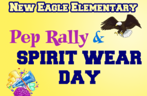 Pep Rally / New Eagle Spirit Wear Day: September 21