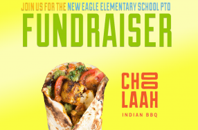 Choolaah Fundraiser for New Eagle Elementary PTO