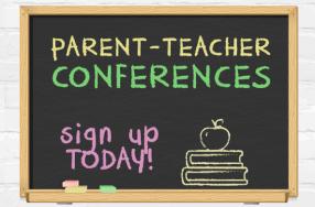 Parent-Teacher Conference Scheduling Begins November 5