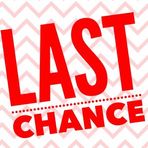 Last Chance Sale